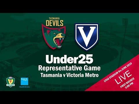 U25 Rep Game - TAS V VIC