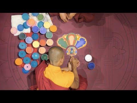 Bhutanese Monks Mandala Live Cam Sunday February 25