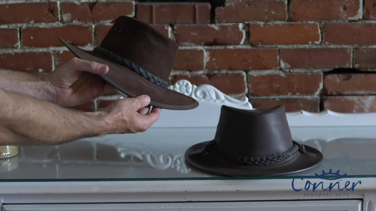 How to Shape and Stretch an Outback Leather Hat