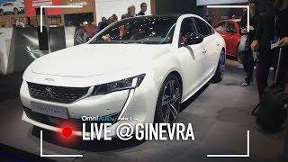 Nuova Peugeot 508, assemblaggi al top! | Salone di Ginevra 2018