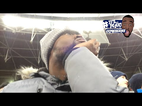Tottenham (0) vs Man City (1) EXPRESSIONS FAN EXPERIENCE  TOUCHED.. SISSOKO HAD THE GAME OF HIS LIFE
