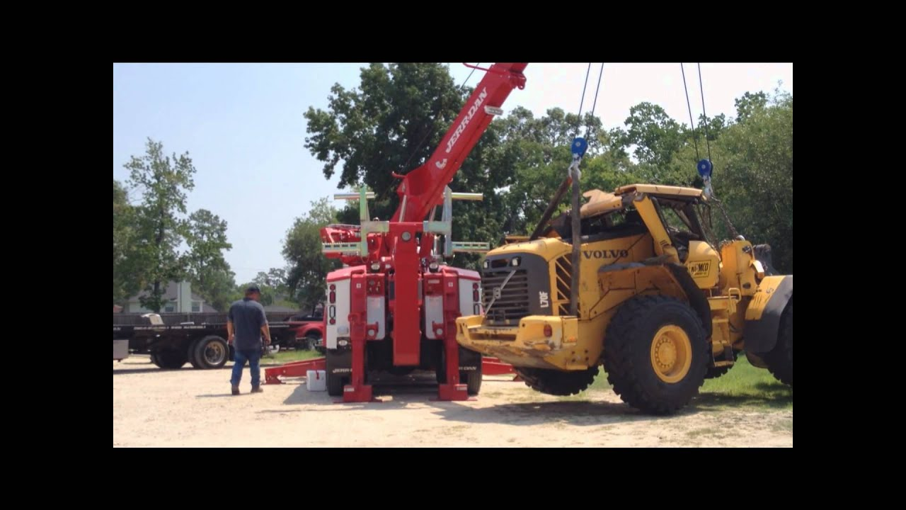 jerr dan 50 ton rotator in action 214 228 4487 youtube. Black Bedroom Furniture Sets. Home Design Ideas