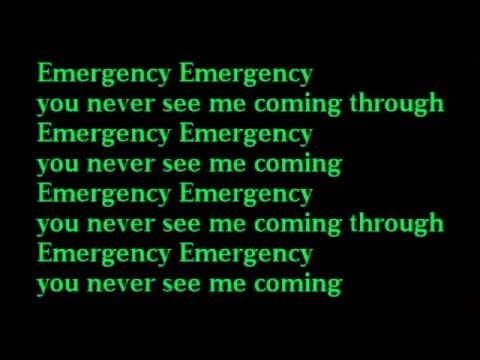 D'Banj  - Emergency (Lyrics Video)