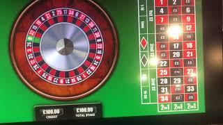 £50 - £100 spins on 20p roulette in betfred