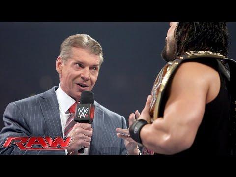 Mr. McMahon Wird Verhaftet: Raw – 28. Dezember 2015