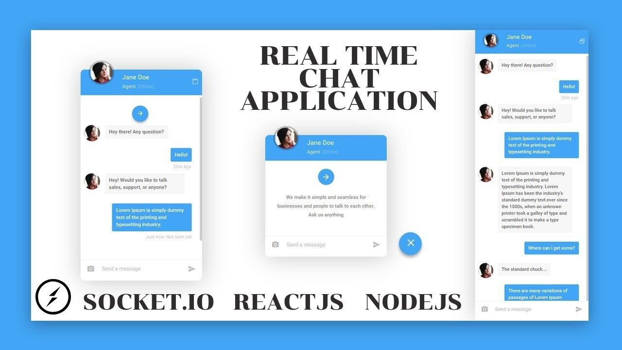 Build and Deploy a Realtime Chat Application -Socket.io, Node.js, and React.js
