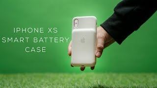 The Truth About the iPhone XS Smart Battery Case !