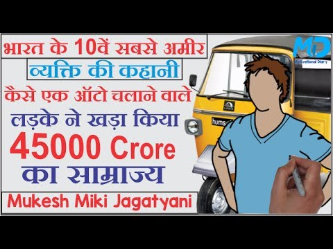 The Success story of Mukesh miki jagatyani in hindi! (Motivational Life story) Animated!