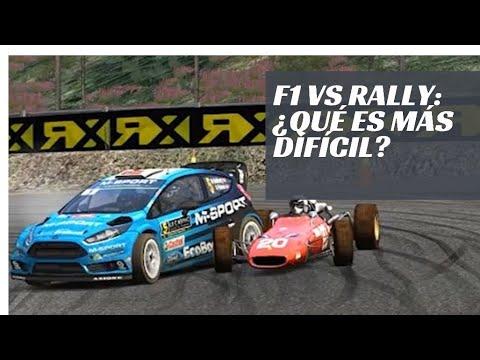 FORMULA 1 vs RALLY ¿Qué es más difícil de conducir?