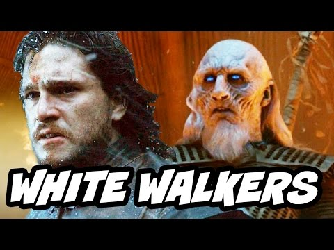 Game Of Thrones Season 7 - Jon Snow White Walkers Night King Theory