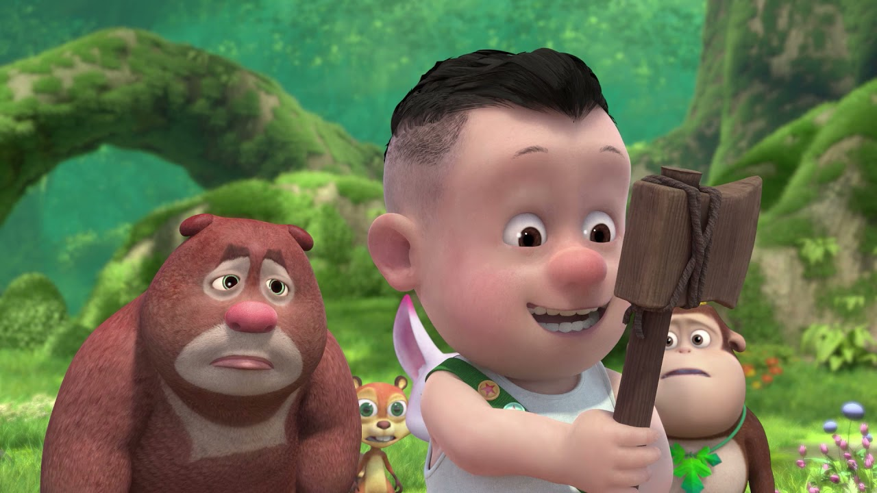 การ์ตูนคู่หูหมีตัวป่วน (BOONIE CUBS)  S1  EP01   โลกใหม่   การ์ตูน   อนิเมชัน   Kids Cartoon