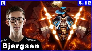 155 tsm bjergsen twisted fate vs azir mid june 21th 2016 season 6 patch 6 12
