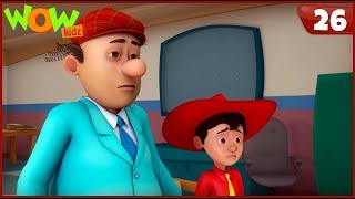 New Cartoon Show | Chacha Bhatija | Wow Kidz | Hindi Cartoons For Kids | Chacha Ka Bad Luck