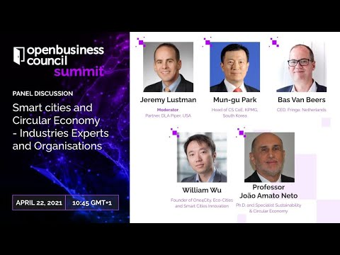 Smart cities & Circular Economy- Industries Experts and Organisations - Dinis Guarda