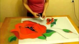 видео урок изготовление витражей. Подробнее www.mr-stekolli.ru