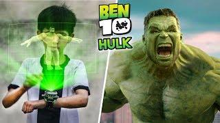 Ben 10 Transforming into Hulk (Special Episode) | A Short film VFX Test