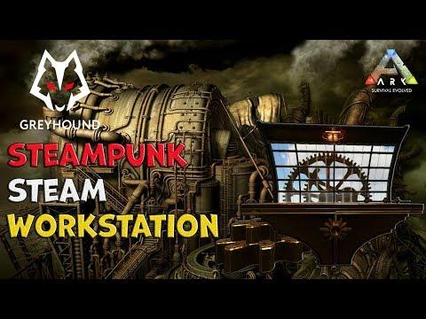 🐺 Steam Workstation Steampunk Mod