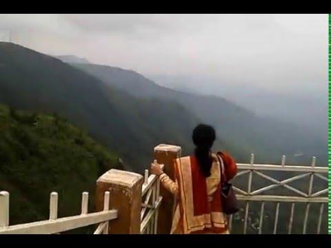 Meghalaya Tourist Spots - Mawjngih View Point, Massar, Pynursla, East Khasi Hills