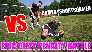 COMEDYSHORTSGAMER VS F2FREESTYLERS | EPIC DIZZY PENALTIES