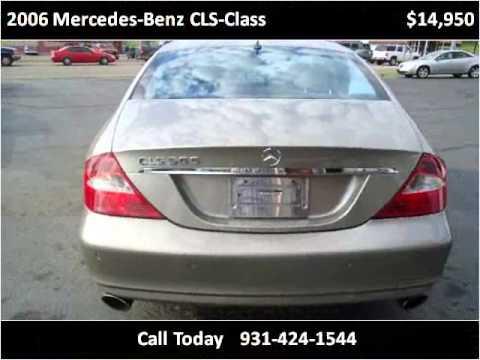 2006 mercedes benz cls class used cars pulaski tn youtube for Bryan motors pulaski tn