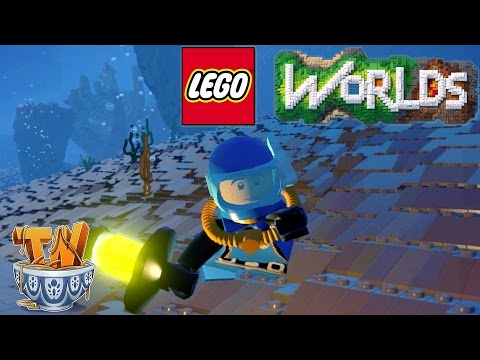 Lego Worlds : Deep Sea Adventures!  -  [Ep. 9]