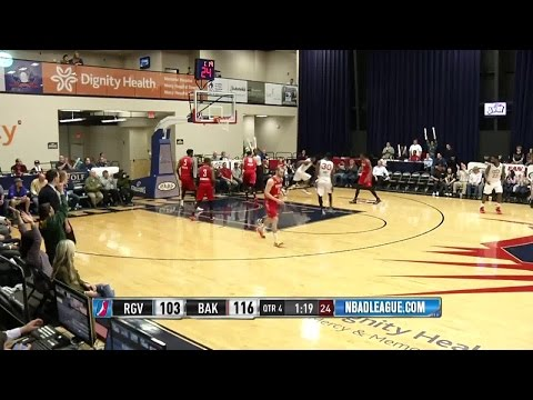 Cory Jefferson posts 20 points & 14 rebounds vs. the Vipers, 2/4/2016
