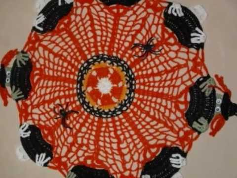 My Crochet Doily Patterns Holiday And Variety Youtube