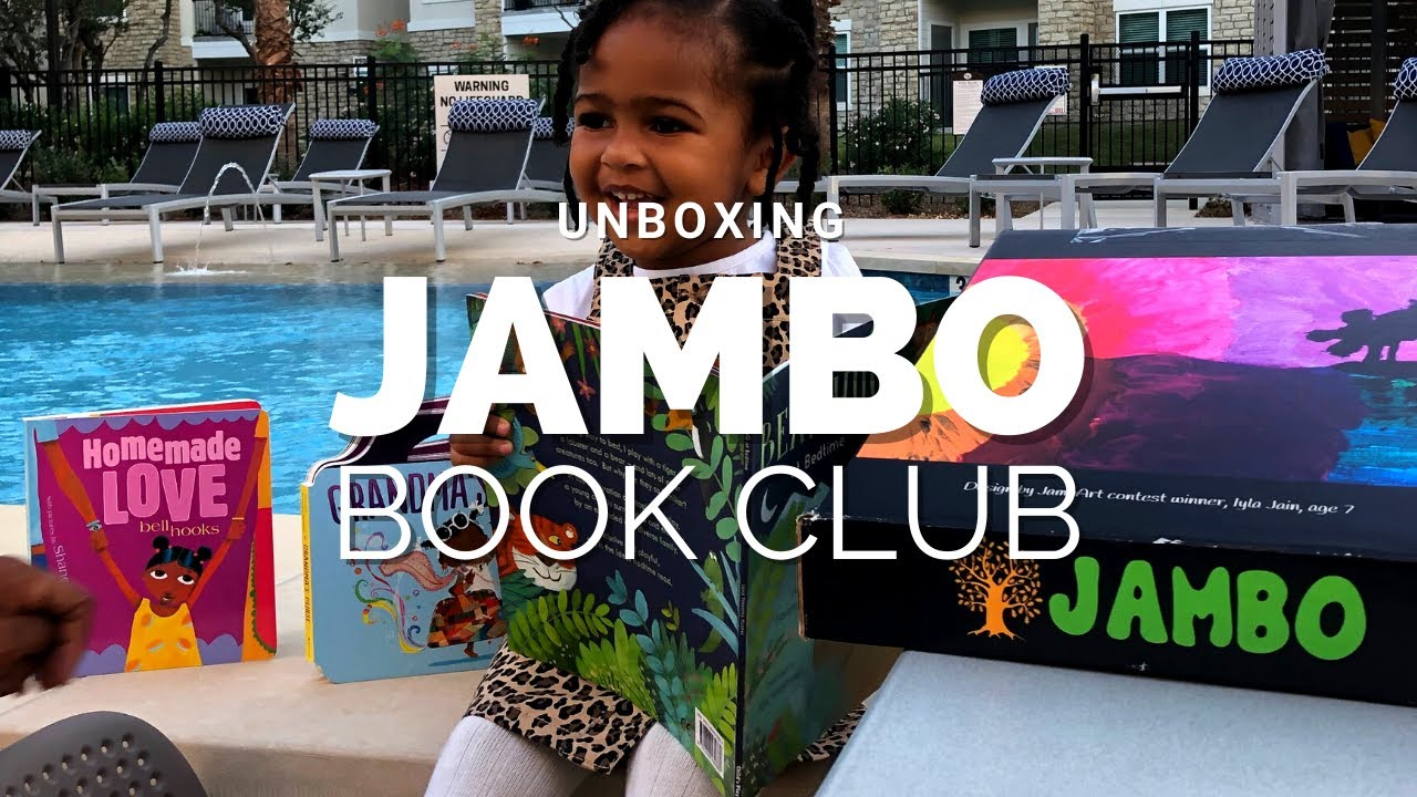 Jambo Book Club Unboxing & Reading!