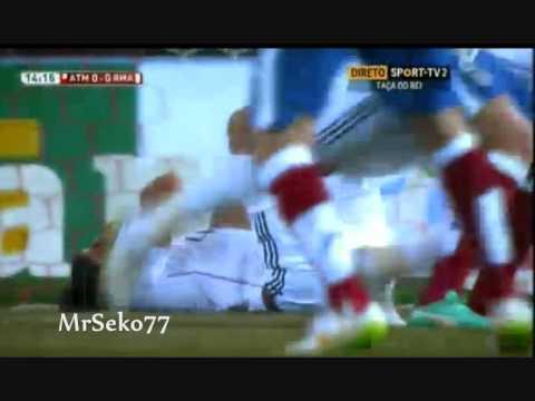 Sami Khedira vs Raul Garcia, Ohrfeige, Atletico Madrid vs Real Madrid