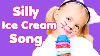 Ice Cream Song | Nursery Rhymes | Learn About Math! | Silly Ice Cream