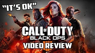 Call of Duty: Black Ops 4 Review (It's Okay) – Gggmanlives