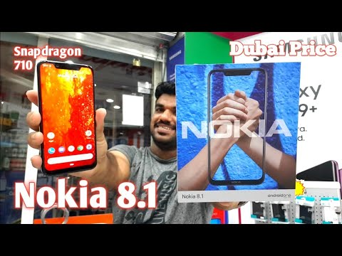 Hindi   Nokia 8.1 Unboxing Global Version launched In Dubai
