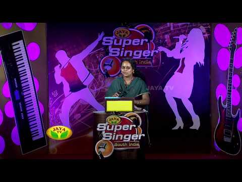 Jaya Super Singer South India Bangalore - Episode 07 ,11/10/2014