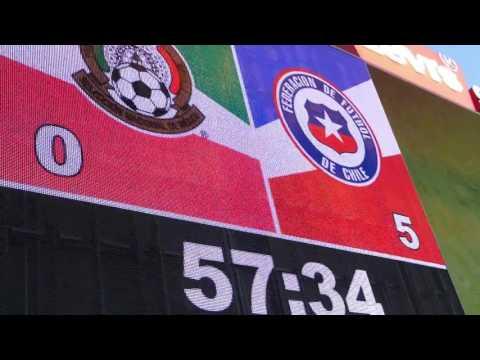 Mexico versus Chile Futbol Game Highlights: Copa America June 2016, Santa Clara, California