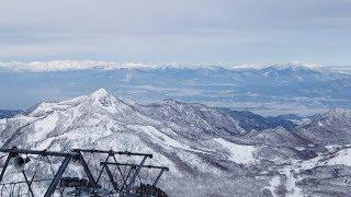 志賀高原 熊の湯 横手山 2019年1月12日   DJI Osmo Pocket   Skiing & Snowboarding   Shiga Kogen Ski Resort   4K