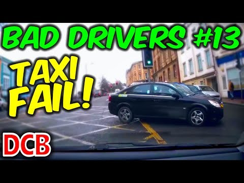 UK Dash Cam - Bad Drivers Of Bristol #13