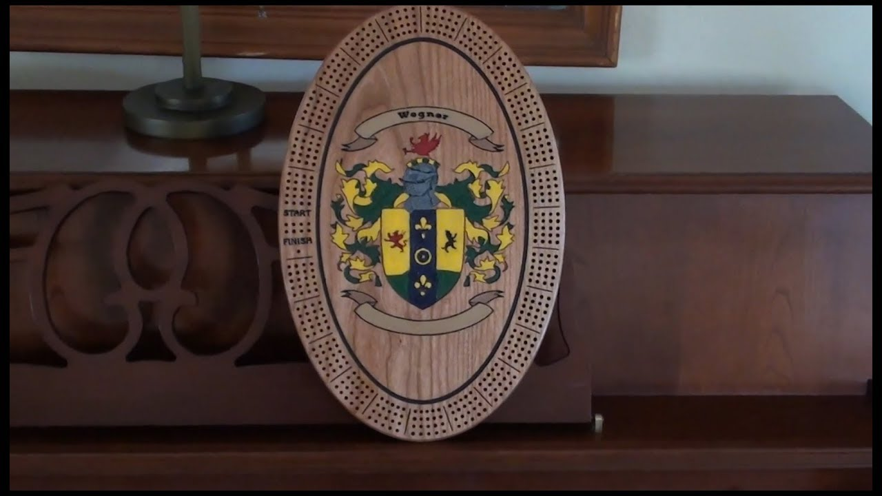 X Carve and Vectric Aspire Tutorial - Coat of Arms Cribbage Board
