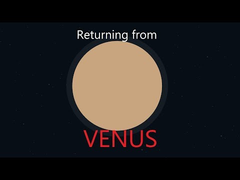 Spaceflight Simulator - Return from the surface of Venus