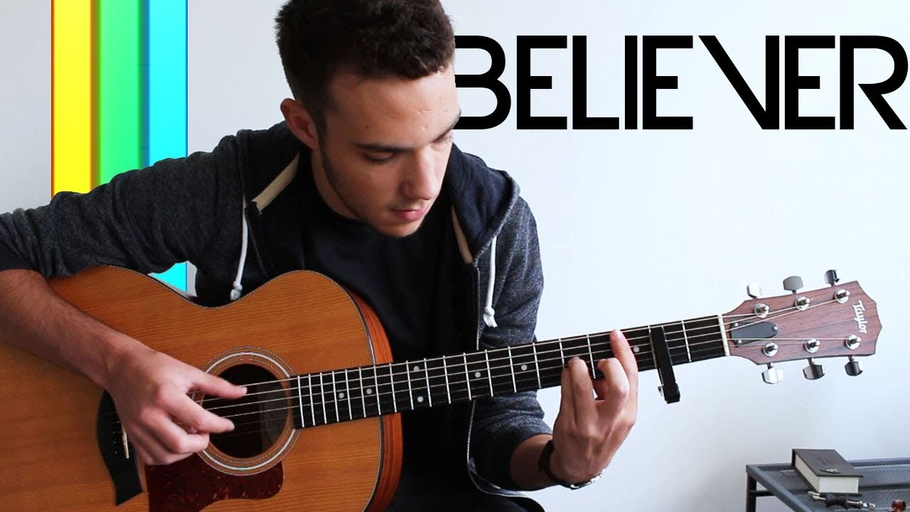 Believer imagine dragons ukulele fingerstyle