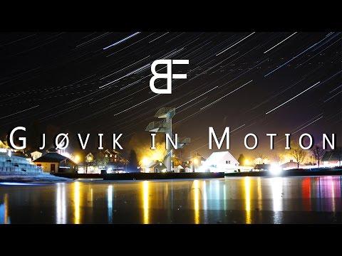 Gjøvik In Motion - A Timelapse and Hyperlapse movie