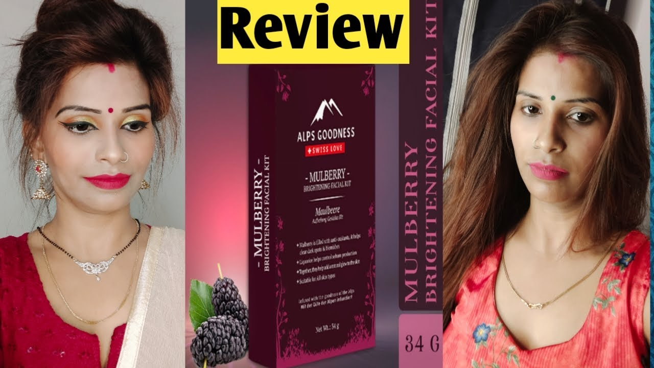Alps goodness mulberry facial kit honest review