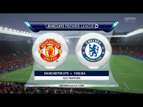 FIFA 16 - Manchester United vs. Chelsea @ Old Trafford
