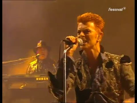 David Bowie  - Loreley Festival - Outside Tour 1996 -