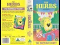 The Herbs: The Birthday Party (1999 Reissue UK VHS)