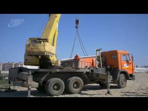 Ход строительства путепровода в Невинномысске