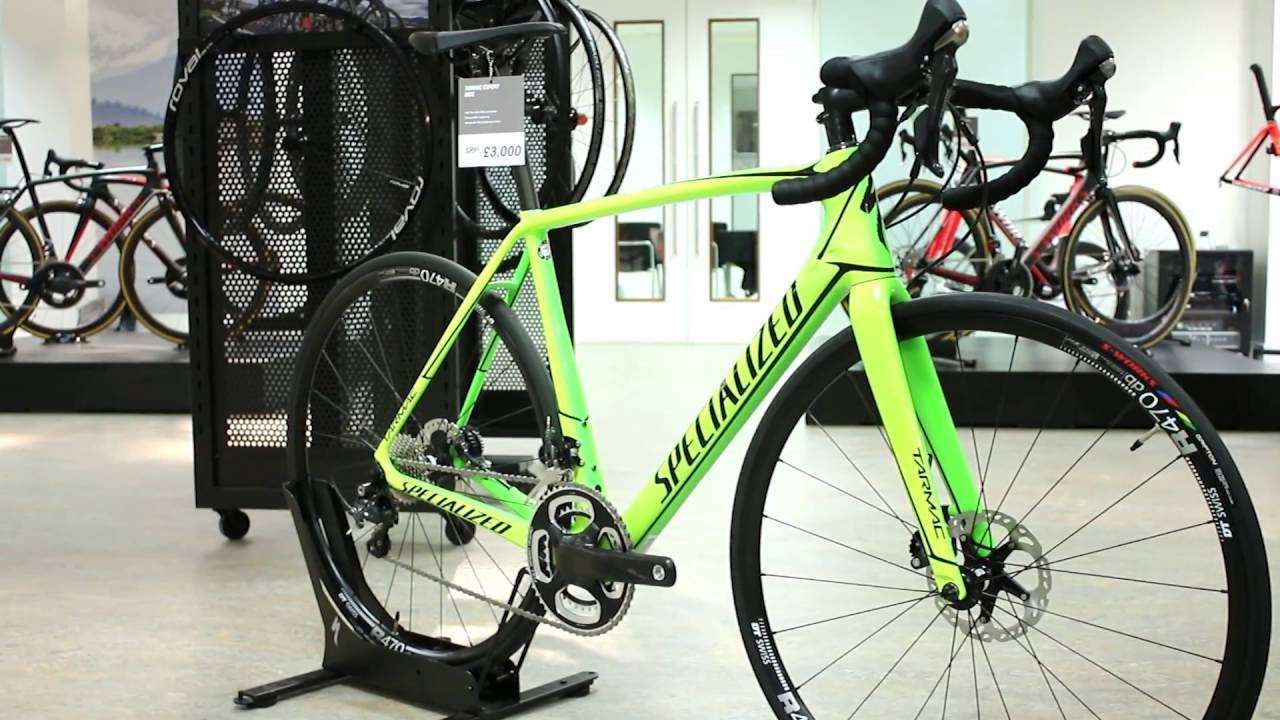 Specialized Tarmac Expert Road Bike 2017 - YouTube