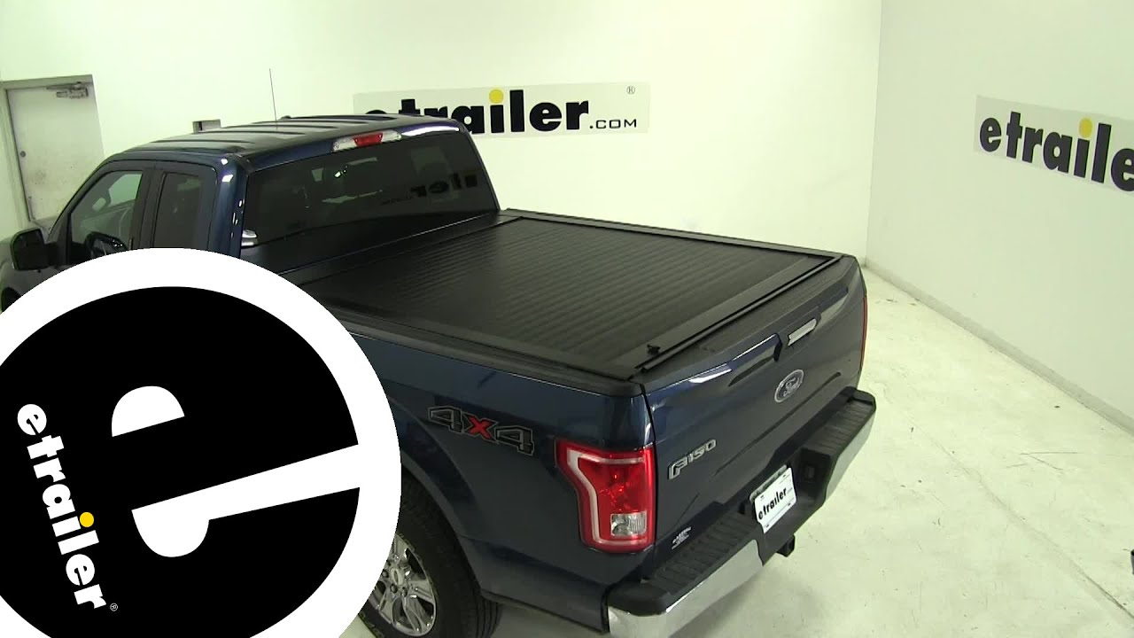 Etrailer Pace Edwards Jackrabbit Hard Tonneau Cover Installation 2016 Ford F 150 Youtube