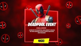 *NEW* FORTNITE UPDATE! DEADPOOL EVENT in Fortnite! (Deadpool Yacht, Challenges & More!)