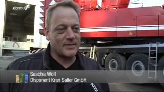 Gigant -- Kranfahrer des größten Krans in Niederbayern