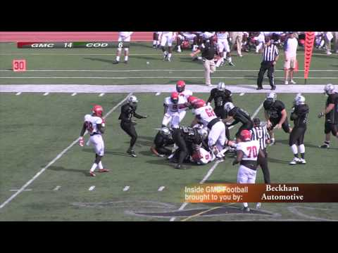 2014 Inside GMC Football College of DuPage Game 5